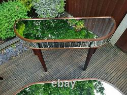 2x Laura Ashley Capri console tables hall tables dressing mirrored tables