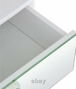 Argos Home Amelie 1 Drawer Mirrored Dressing Table White