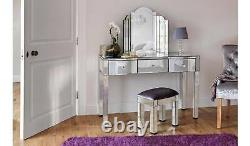 Canzano 3 Drawer Dressing Table Mirror