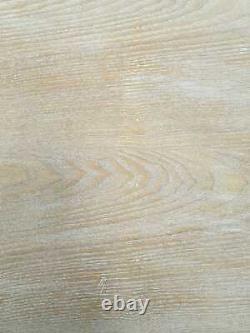 Clearance Wood Lattice Glass Mirrored Dressing Table Set Inc Stool