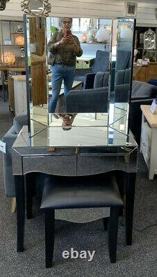 Dressing Table, Matching Stool And Matching Mirror