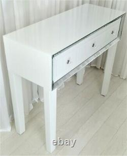 Dressing Table Vanity Table PURO PREMIUM PLUS Glass Mirrored Console Desk SALE