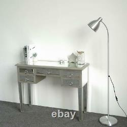 Gorgeous Mirrored Dressing Table Glass Drawer Vanity Table 5 Drawers Storage