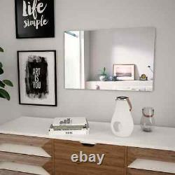Large Round Wall Mirror Dressing Hallway Bedroom Home Decor Living Room