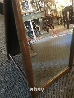 Mid Century Modern Scandinavian Design Shoe Store Double Sided Dressing Mirror