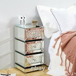 Mirror bedroom Dressing Table Stool bedside Table cabinet console Dresser Glass