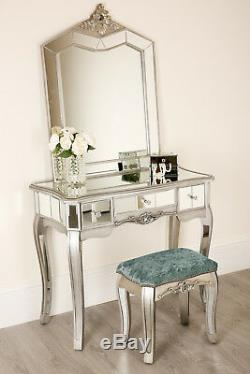 Mirror bedroom Dressing Table bedside cabinet console Dresser French glass