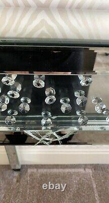 Mirrored Dressing Table & Mirror Set