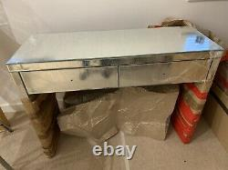 Mirrored Glass Dressing Table