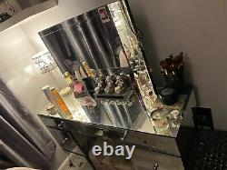 Mirrored Glass Dressing table From Next (used)
