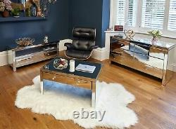 Mirrored bedroom Furniture set Dressing Table Chest of Drawers Bedside Table