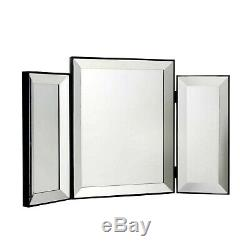 NEW Glam Bevelled Dressing Table Mirror Glitz Vanity Make-up MIRROR ONLY
