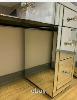 New Boxed Mirrored Dressing Table Mirror