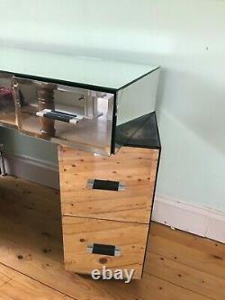 Next Home Mirrored Glass Dressing Table Dresser