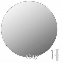 Round Mirror Wall Mounted Dressing Living Room Bedroom Bathroom Home Decor