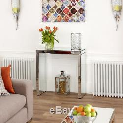 Venetian Mirrored Compact Console Table Hall Telephone Side Dressing VEN38