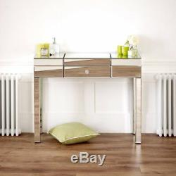 Venetian Mirrored Compartment Dressing Table Hall Console BRAND NEW VEN92