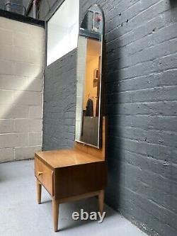 Vintage Mid Century Kandya Dressing/hall Mirror Draw By Frank Guille 1960s