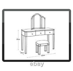 Accueil Canzano 3 Tiroir Dressing Table Only Mirror