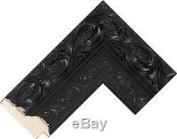 Achat Direct Ornement Noir Shabby Chic Style De Long & Cadrage Miroir Dressing