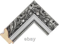 Acheter Direct 59mm Ornate Argent Et Long Hauteur Dressing Miroirs