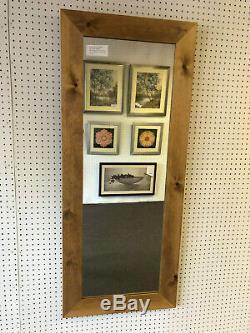 Acheter Direct-70mm Lumière Oak Pine Long Teint Solid & Dressing Mirror Plein Longueur