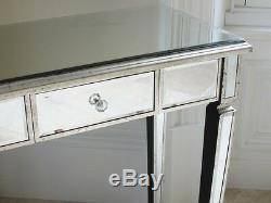 Argent Console De Table De La Salle De Table Console Miroir Vénitien Table Miroir Vinaigrette
