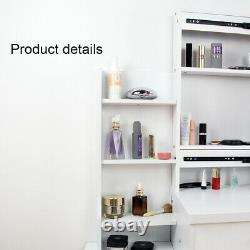 Bureau Moderne De Maquillage De Table D'habillage Ensemble Avec Le Miroir Et Le Tiroir Allumés Deled, Chambre À Coucher De Tabouret