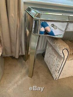 Coiffeuse Mirrored Par Next 3 Tiroirs Juliette Range Furniture