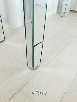 Coiffeuse Verre Mirrored Coiffeuse Amesbury Premium Plus Bureau Console