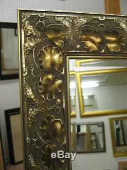 Commerce Priced -nouvelle Ornement Or Biseau Verre Cadrage En Pied Miroir 18 X Dressing 54