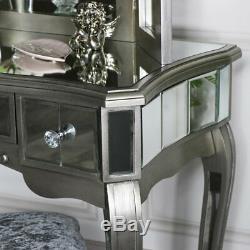 Console Coiffeuse Miroir 3 Voies Triple Miroir De Courtoisie De Table Chic Français