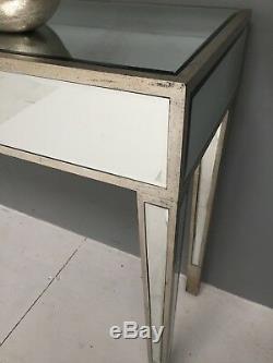 Console Mirrored Coiffeuse Bureau Meubles En Verre Moderne Vénitien