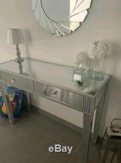 Console Table Mirrored De Venise Meubles Coiffeuse Chambre Bureau Vanity