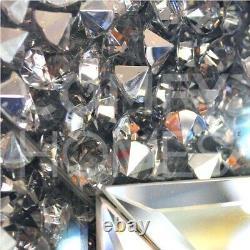 Crushed Crystal 2 Tiroir Dressing / Console Table Livraison Gratuite