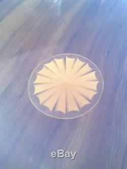 Décoratif Coiffeuse. Trois Tiroirs / Placard / Miroir / Amovible En Verre Haut