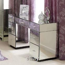 Dunelm Vénitien Mirrored Coiffeuse Flambant Neuf Rrp £ 399