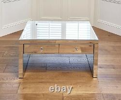 Ensemble Miroir De Meubles De Chambre À Coucher Dressing Table Coffre De Tiroirs Table De Chevet