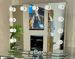 Grand Hollywood Miroir Coiffeuse Miroir Miroir Meubles De Chambre À Coucher