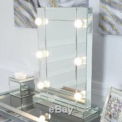 Hollywood Classic 6 Led Light Up Dimmable Ampoules Coiffeuse Miroir