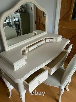 John Lewis Dressing Table, Chaise & Miroir