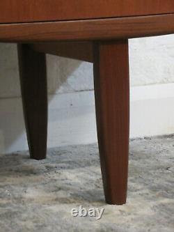 MID Century G Plan Fresco Teck 5 Tiroirs Dressing Table Avec Miroir Et Tabouret