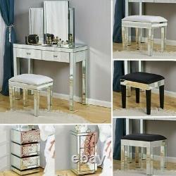 Meubles De Chambre À Coucher Miroir, Tabouret, Miroirs, Table De Chevet