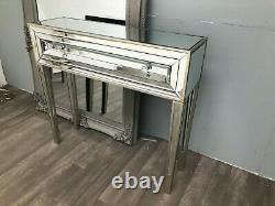 Miroir Console Dressing Table Desk Venetian Glass Furniture 1 Drawer Home