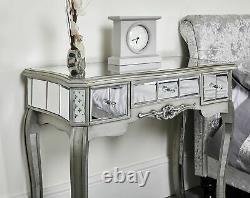 Miroir Dressing Table Vanity Dresser Console Chambre À Coucher Stool Mirror Set Makeup