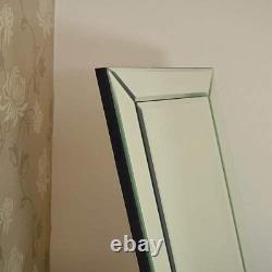 Miroir Large All Glass Venetian Cheval Dress Big New 5ft7 X 1ft11 170cm X 58cm