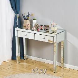 Miroir Makeup Desk Glass Dressing Table Stool Bedroom Console Venetian Vanity Uk
