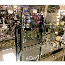 Mirrored Coiffeuse Set Livraison Gratuite Disponible