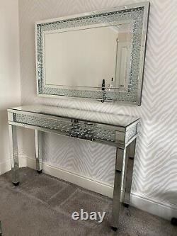 Table D'habillage En Miroir Et Ensemble Miroir
