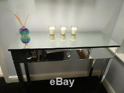 Table De Toilette Mirrored